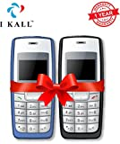 #7: I KALL 1.4 -inch Display Feature Mobile Combo - K72 (Light Blue + Black)