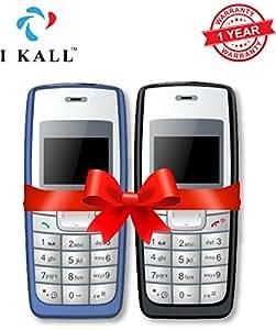 IKALL K72 1.4 -inch Display Mobile Combo (Light Blue, Black)