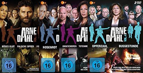 Arne Dahl - Vol. 1 + 2 + 3 + 4 [13 DVDs] -SET-Krimi