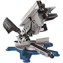 Scheppach 5901103901Combinación de sierra/mesa de sierra ingletadora tronzadora, dos en un dispositivo Sierras Combina, usos múltiples, compacto, resistente y ligera, 1800W, 230V