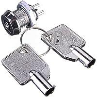 Plat Firm Interruptor de seguridad operado con llave Solo polo Solo tiro SPST 2 Posiciones