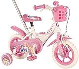 10 Zoll Kinderfahrrad mit Lenkstange Disney Princess Fahrrad Prinzessin 31003