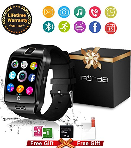 Bluetooth-Smart-Watch-With-Camera-Touch-Screen-Smartwatch-Unlocked-Watch-Cell-Phone-With-Sim-Card-Slot-Smart-Wrist-Watch-Pedometer-Fitness-Tracker-For-Android-Phones-Samsung-IOS-Iphone-7-Plus-6S-Iphon