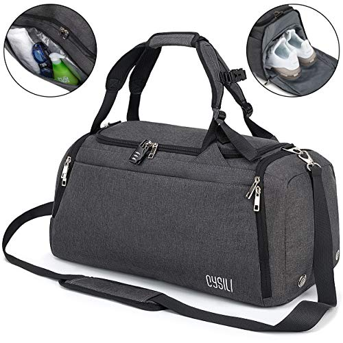 Sports Duffle Bag with Shoes Com...