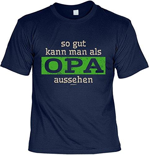 sabuy T-Shirt - So gut kann Man ALS Opa Aussehen - Cooles Shirt mit Lustigem Spruch ALS Geschenk zum Vatertag