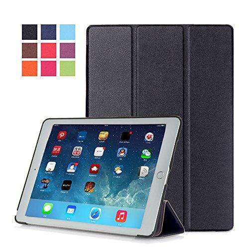 Preisvergleich Produktbild Hülle für Apple IPad Pro 2016 9,7 Zoll Tasche Schutzhülle Smart Cover Book Case (Schwarz)