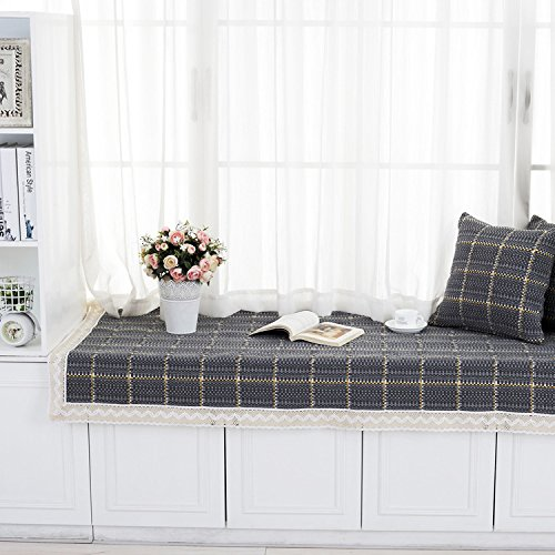 new-day-the-new-plaid-floating-window-pad-simple-modern-windowsill-cushion-deep-gray-lattice-floatin