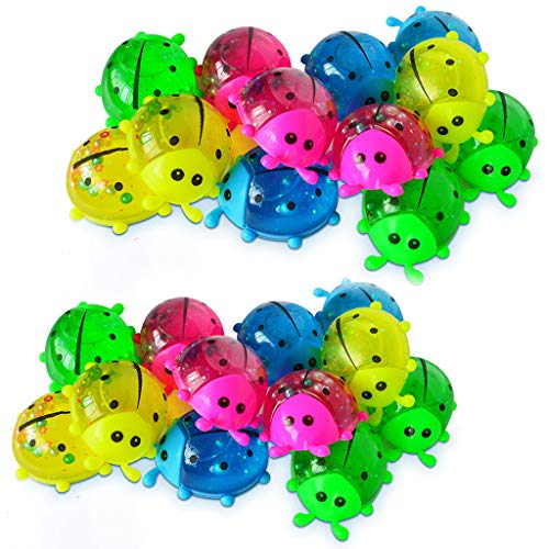 Tensay 24 Stücke Tier Bunte DIY Mischen Kristall Schleim Duftenden Schäumen Kinder Erwachsene Ton Spielzeug DIY Stressabbau Pädagogisches Spielzeug Dekomprimiert Wolke Schlamm -