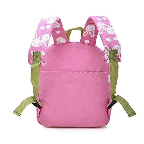 Imagen de  infantil / pequeña bebes guarderia bolsa lindo conejo animales bambino  para pequeño niñas rosa alternativa
