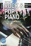 Rock + Pop Piano - arrangiert für Klavier - mit CD [Noten / Sheetmusic] Komponist: GUNDLACH MICHAEL