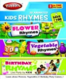 Pebbles 3D Kids Rhymes (Flo, Veg, Birthd...