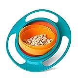 BlueSnail Geschirr zum Babytraining, universal, auslaufsichere Schüssel mit 360 °.Drehung, Gyroskop-Geschirr