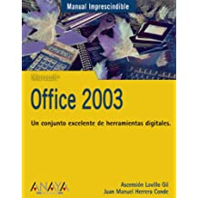 Office 2003 (Manuales Imprescindibles)