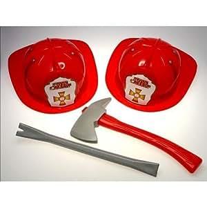 Casque de pompier pour ENFANT avec Pied de biche