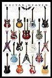 1art1 48473 Poster Guitares Guitar Heaven I 91 x 61 cm
