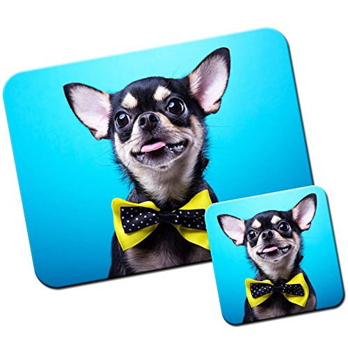 messicano-taco-bell-chihuahua-cane-tappetino-per-mouse-pad-e-set-di-sottobicchieri-chihuahua-wears-y