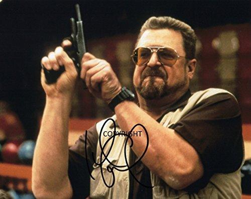 Limited Edition John Goodman The Big Lebowski unterzeichnet Foto Autogramm signiertsigniertes