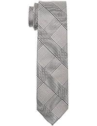 Calvin Klein - K30k300515 - Cravate - Homme - Multicolore (Black 001) - Taille unique (Taille fabricant: OS)