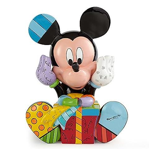 Disney par Romero Britto Figurine d'anniversaire Mickey Mouse