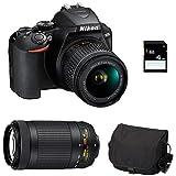 NIKON D3500 + 18-55 VR + 70-300 AF-P VR + Sac + SD 4Go