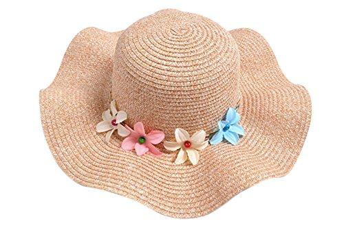 Hosaire Sombrero para el sol sombrero de paja Verano Gorra Sombrero Algodón  Anti UV Solar para be164a6e33f