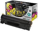 Yellow Yeti Toner kompatibel für HP LaserJet Pro P1100 P1101 P1102 P1102w P1103 P1104 P1104w M1212nf M1213nf M1217nfw M1132 MFP Canon i-SENSYS LBP-6000 LBP-6000B LBP-6018 LBP-6020 LBP-6020B MF-3010 [3 Jahre Garantie]