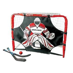 BAUER Deluxe Knee Hockey Tor Set 30.5′ (77x58x34cm), Größe:Unisize