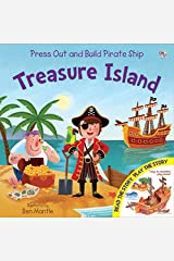 Pirate Ship Treasure Island (Press Out and Build Junior Press Out and Build) Hardcover