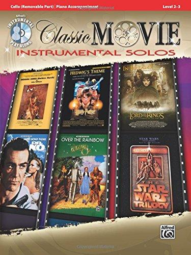 Classic Movie Instrumental Solos: Cello (Book/CD) +CD