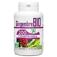 Le gingembre est une plante vivace tropicale herbacée d'environ 0,90 m de haut issue d'un rhizome. Les feuilles persistantes sont lancéolées, bisériées, longues et odorantes. Les fleurs sont blanches et jaunes ponctuées de rouge sur les lèvres, les b...