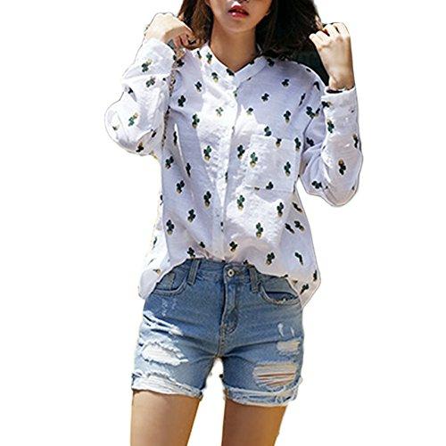 balai-women-casual-button-tops-long-sleeve-printed-lapel-shirt-cotton-blouse-m