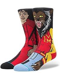 Stance Michael Jackson Socks Red