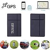 GPS Tracker TKMARS Mini Traceur Véhicule en Temps Réel Localisateur GPS Traceur Antivol pour Voiture Moto Enfant Vélo Portefeuille (TK903B)
