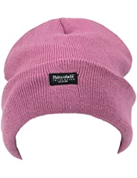 be0e9554f0d3f Thinsulate FINE KNIT SKI HAT LIGHT PINK THERMAL INSULATED BEANIE