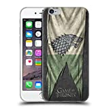 Officiel HBO Game Of Thrones Stark Drapeaux De Symbole Étui Coque en Gel molle pour Apple iPhone 6 / 6s