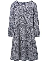 a939f38b9f Joules Juliana Fit and Flare Womens Dress with Interest Sleeve (Z)