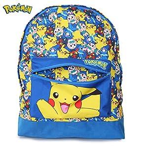 5148zoq zaL. SS300  - Pokémon Mochilas Escolares Juveniles | Mochila Para Niños Con Pikachu, Litten, Rowlet Y Popplio | Bolso Escolar Niño Y…