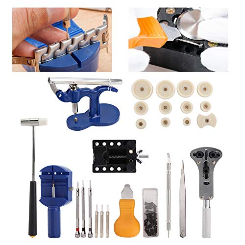 Uhren 3-Jaw Back Case Pinzette Schraubendreher Die Set Uhren Repairing Tool Kits Batteriewechsel Watch Strap Removal Tool -