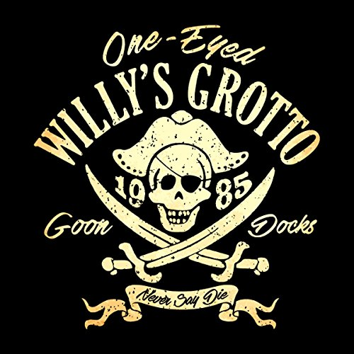 One Eyed Willys Grotto The Goonies Men's Vest Black
