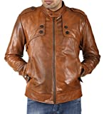 Shagoon Emporium Men's Leather Jacket(sh...