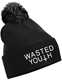cad4c5b740e TTC Wasted Youth Bad Hair Day Comme Des Disobey Fatal Homies Wasted Blame  Bobble Hat Burgundy