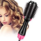 Singerhuas Brosse Soufflante, Brosse Chauffante Lissante, 3 en 1 Seche Cheveux Electrique Multifonctionnels Fer à...