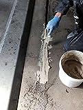 Epoxidharz Reparaturmörtel Pflasterfugenmörtel Betonsanierung | BK-150EP 2K Epoxidharzmörtel Fugenmörtel Mörtel Pumpbelastung bis 3t/qcm Beton reparieren Schnelle Aushärtung, mechanisch Hochbelastbar (10KG)