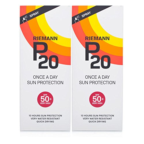 Riemann P20 OAD Sun Filter SPF50+ Twin Pack
