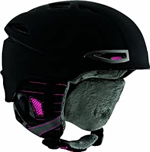 Red Women's Drift Helmets - Black/Pink EU, Large