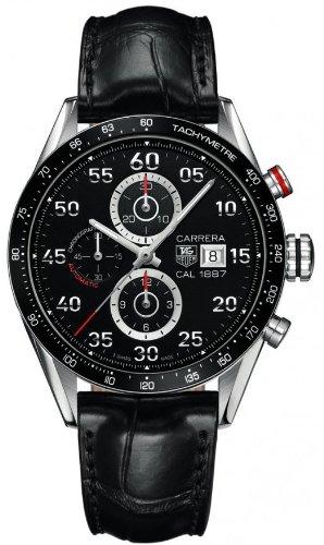 TAG Heuer CAR2A10.FC6235 - Reloj para hombres, correa de cuero