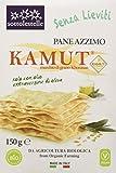 Sottolestelle Pane Azzimo Khorasan Kamut - 4 pezzi da 150 g [600 g]