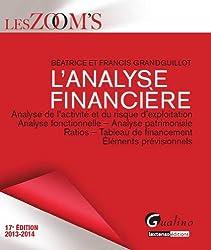 L'analyse financière : Analyse de l'activité et du risque d'exploitation, analyse fonctionnelle, analyse patrimoniale, ratios, tableau de financement, éléments prévisionnels