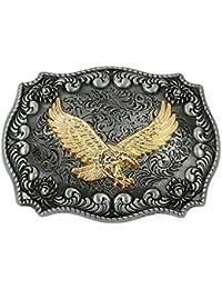 FYX Hebilla de Cinturón para Hombre con Letra J KNh92a - afinaestate.com 9942aae6b25