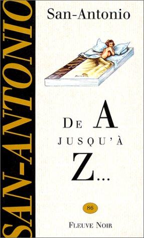 De A jusqu'à Z